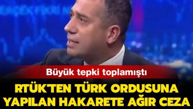 Türk ordusuna 'Satıldı' diyen CHP'li Ali Mahir Başarır'ın katıldığı yayına RTÜK'ten ağır ceza