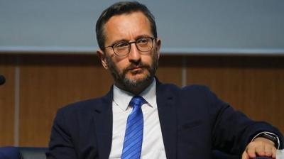 İletişim Başkanı Fahrettin Altun: Tehditleriniz hükümsüzdür