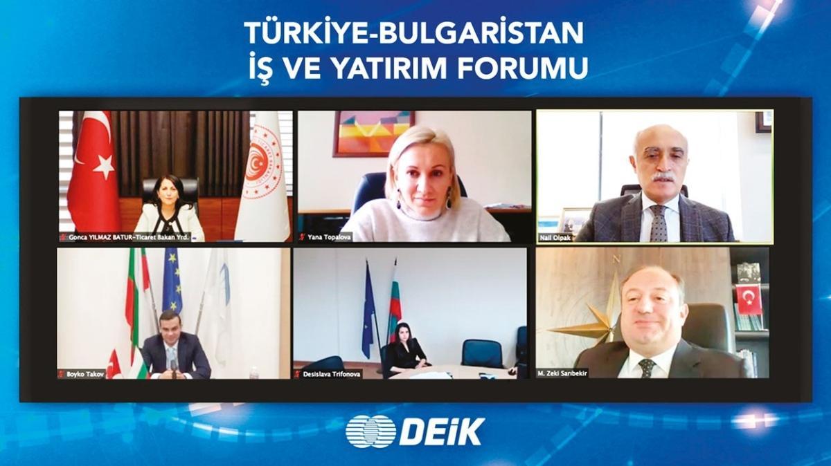Türk ve Bulgar iş dünyası karşılıklı yatırımı artıracak