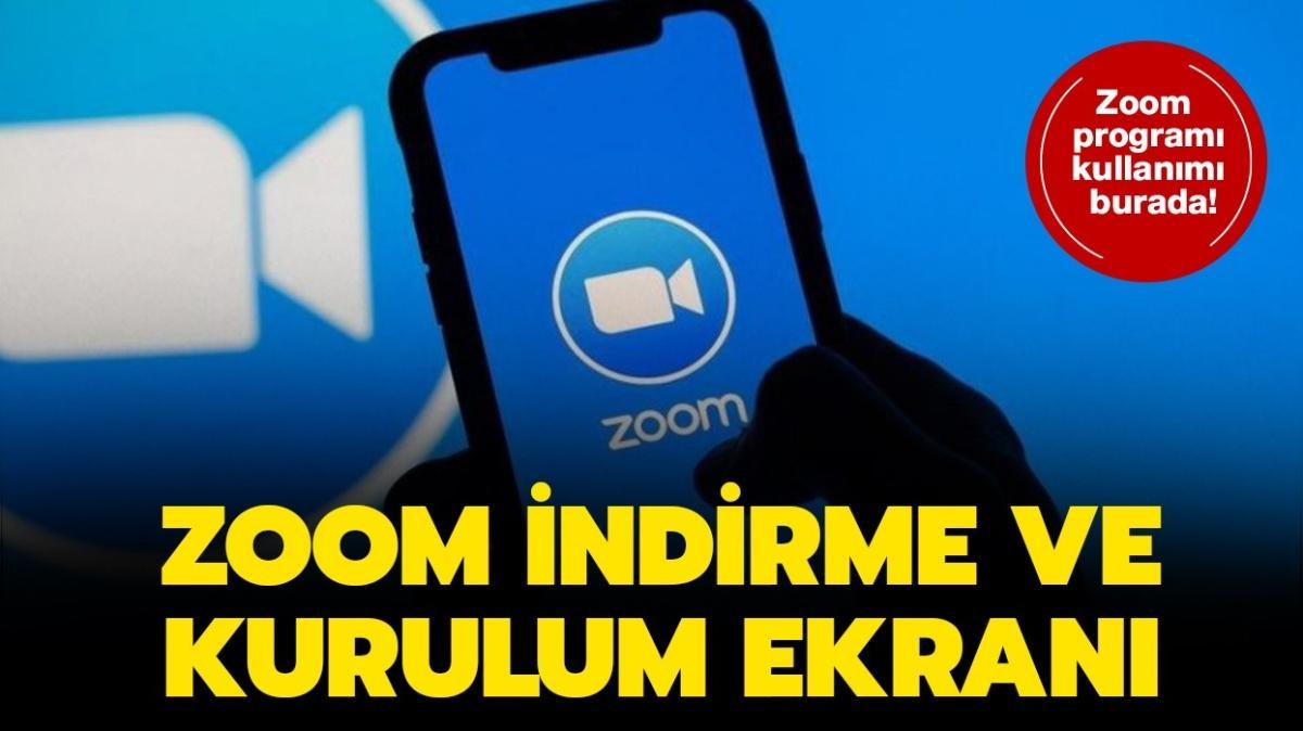 EBA Zoom ders giriş ekranı 2020! Zoom indirme ve kurulum ekranı burada!