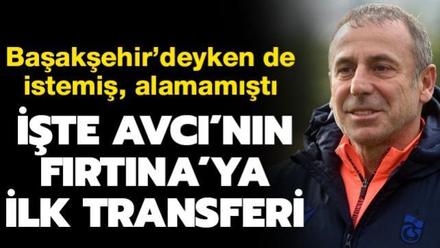 İşte Avcı'nın ilk transferi! Başakşehir'de de istemişti...