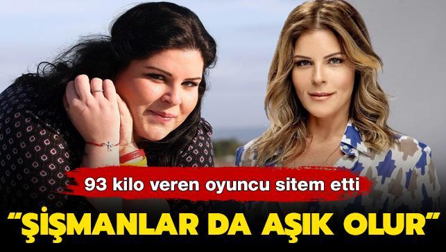 93 kilo veren Pelin Öztekin sitem etti: Şişmanlar da aşık olur!