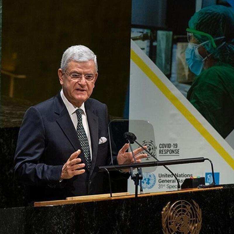 BM Genel Kurul Başkanı Bozkır'dan koronavirüs aşısı açıklaması
