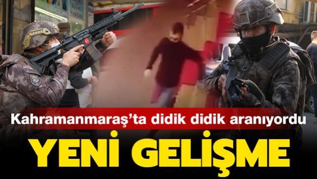 Kahramanmaraş'ta polise hain saldırı: 1 polisi şehit eden zanlı yakalandı