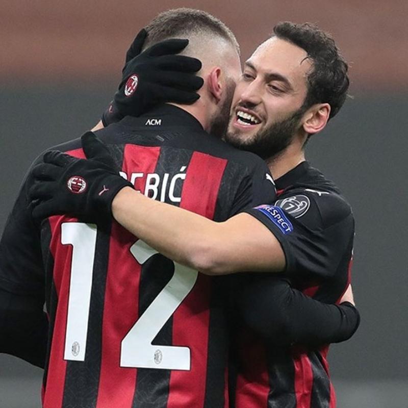 Hakan Çalhanoğlu fitili yaptı, Milan geri dönüşe imza attı