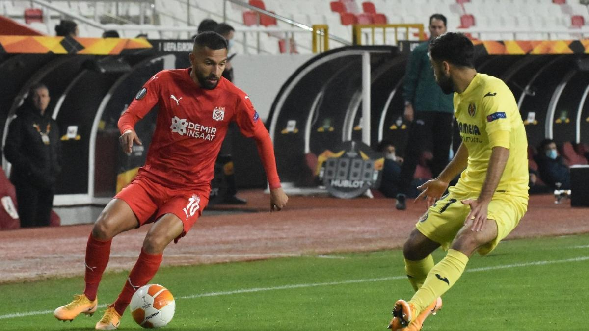 Sivasspor Villarreal'e mağlup oldu