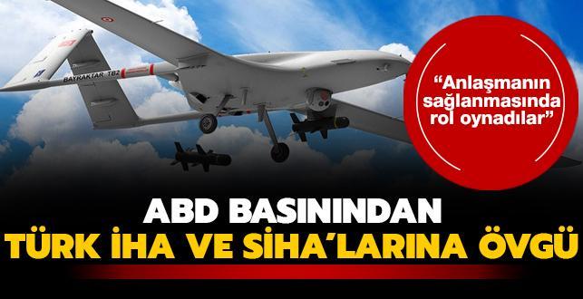 ABD basınından Türk İHA ve SİHA'larına övgü
