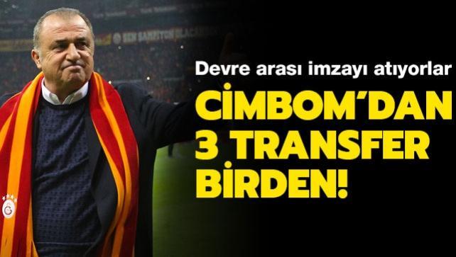 Galatasaray devre arası 3 yıldızı kadrosuna katıyor