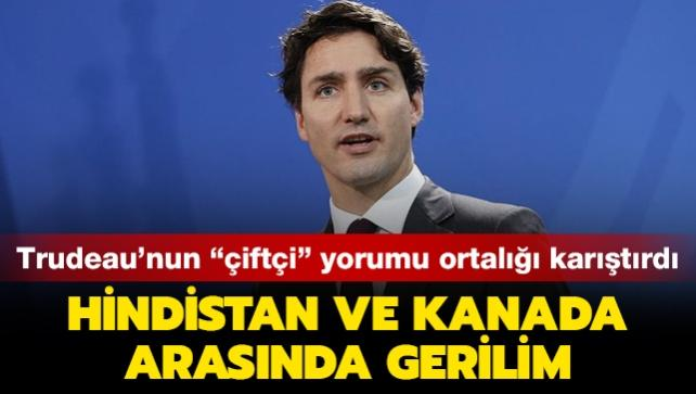 Hindistan ve Kanada arasında gerilim... Trudeau'nun 'çiftçi' yorumu ortalığı karıştırdı