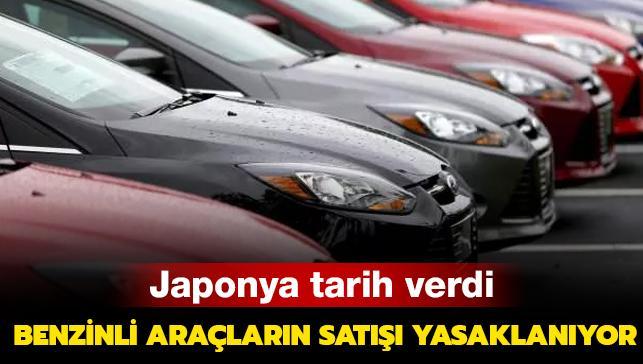 Japonya tarih verdi: Benzinli araç satışı yasaklanıyor