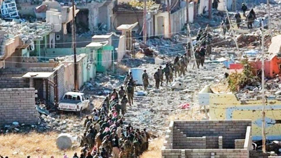 PKK'dan Sincar makyajı