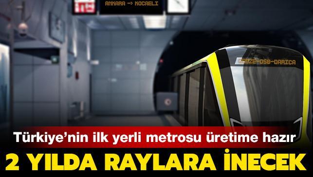 Son dakika haberi... Türkiye'de ilk olacak! Yerli metro üretimi Ankara'da başlıyor