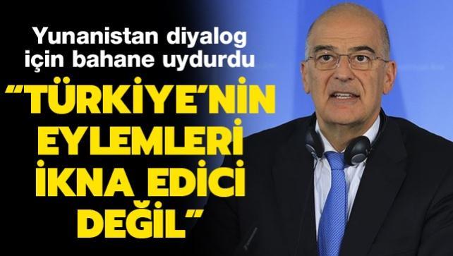 Son dakika haberler... Yunanistan diyalog için bahane uydurdu: Türkiye'nin eylemleri ikna edici değil