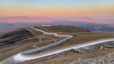 Bakan Soylu son dakika müjdeyi verdi: 81 kilometrelik Ağrı-İran Güvenlik Duvarı tamamlandı