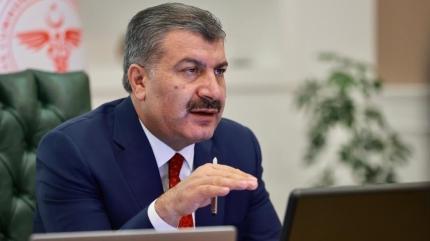 Sağlık Bakanı Koca'dan 4 ilin valisiyle toplantı