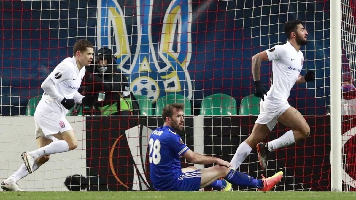 Zorya, Leicester City'yi Allahyar Sayyadmanesh'in golüyle devirdi