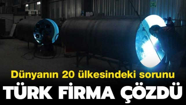 Dünyanın birçok ülkesi bu sorundan şikayetçiydi... Türk firmasından kalıcı çözüm: Talep yağıyor
