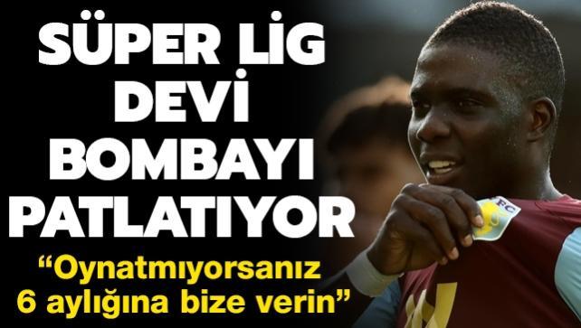Süper Lig devi bombayı patlatıyor: Oynatmıyorsanız bize kiralayın
