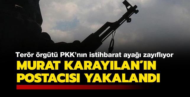 Son dakika haberi: Terör örgütü PKK'nın elebaşlarından Murat Karayılan'ın postacısı yakalandı