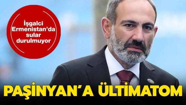 Ermenistan'da Paşinyan'a istifa etmesi için ültimatom verildi