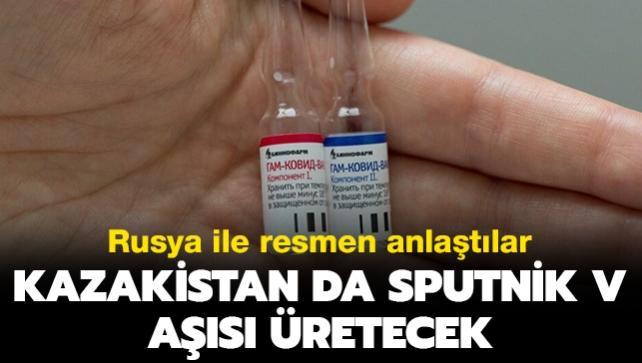 Kazakistan'da Rus aşısı Sputnik V üretecek
