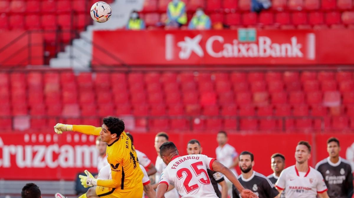 Real Madrid, Sevilla deplasmanından sağ çıktı
