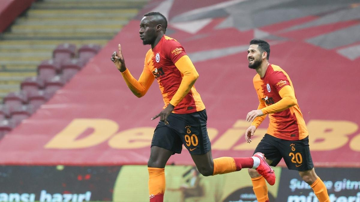 Fatih Terim'le 1000. gol Diagne'den