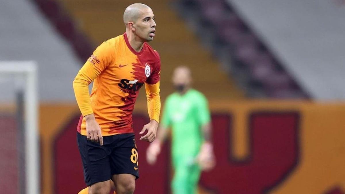 Galatasaray'da Feghouli geçen sezonu şimdiden yakaladı