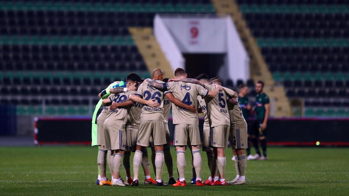 Süper Lig'in deplasman fatihi Fenerbahçe