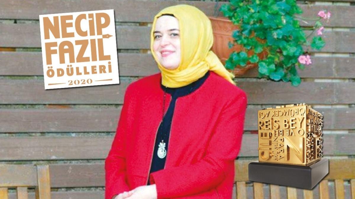 Necip Fazıl İlk Eserler Ödülü Zeynep Arkan: 'Sakarya Türküsü' ile büyüdüm