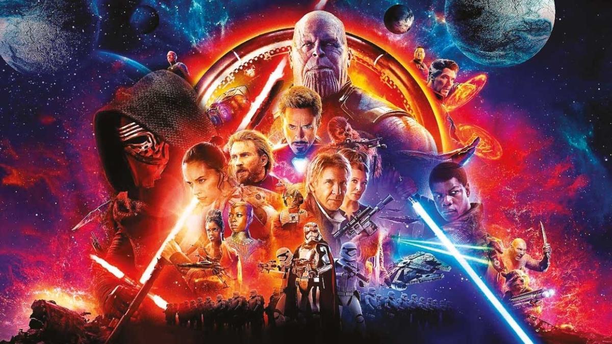10 yeni Star Wars ve Marvel yapımı yolda