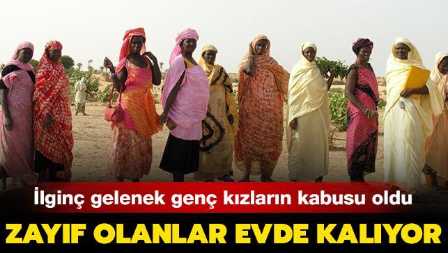 Afrika ülkesinde zayıf olanlar evde kalıyor! İlginç gelenek genç kızların kabusu oldu