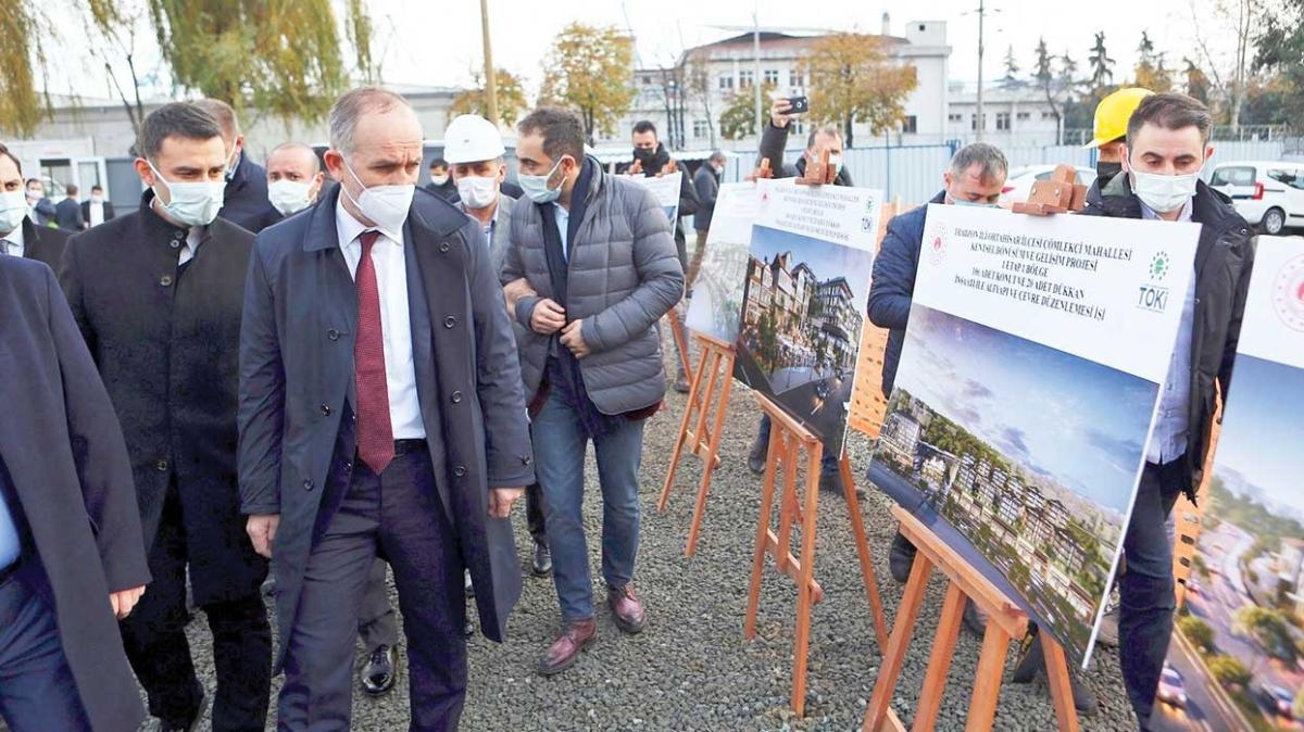 Projeler sürüyor! TOKİ'den Trabzon'a 4 milyar liralık yatırım