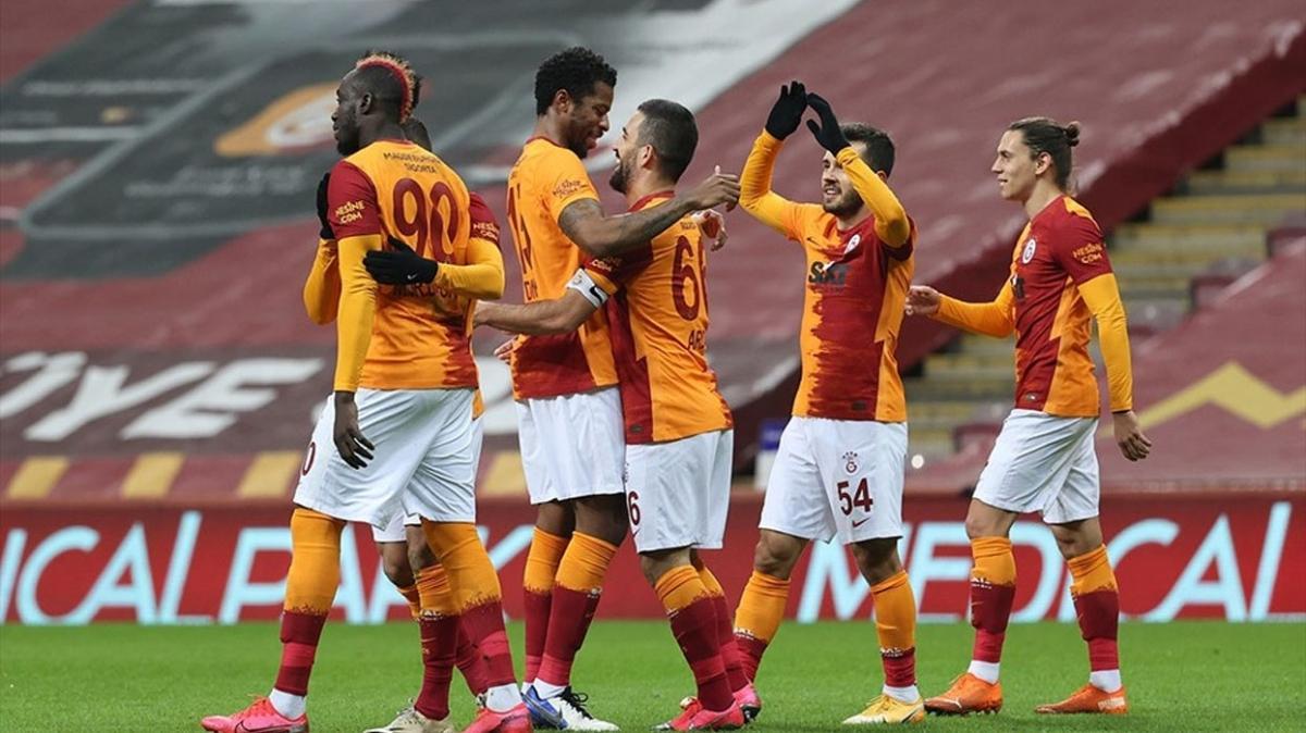Galatasaray'ın ligdeki süper formu devam ediyor