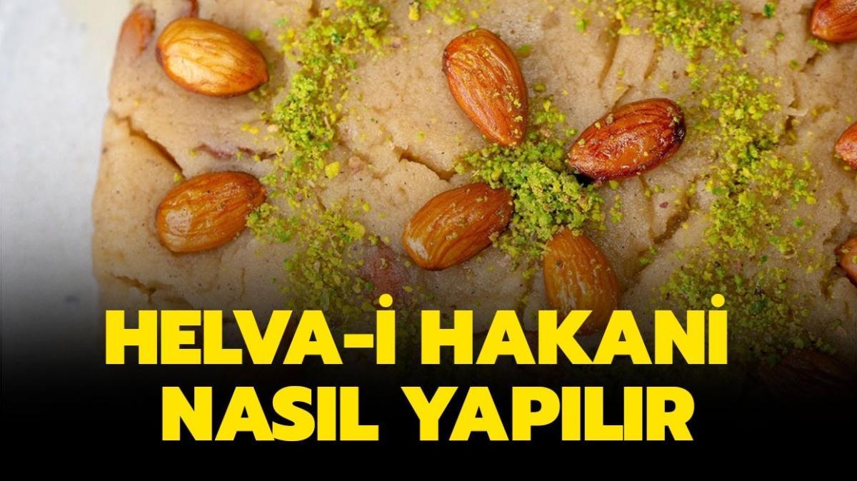 """Helvai Hakani tarifi ve püf noktası nedir"""" Helva-i Hakani nasıl yapılır, malzemeleri neler"""""""