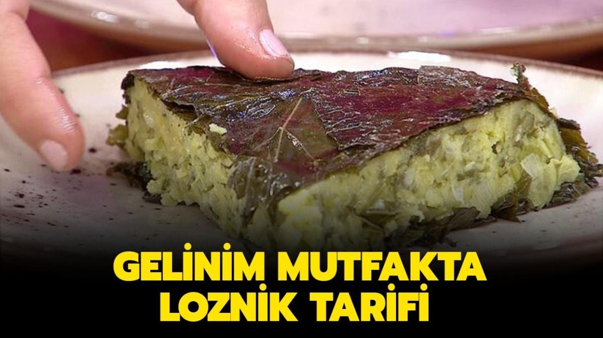 """Gelinim Mutfakta Loznik nasıl yapılır"""" Loznik tarifi burada!"""