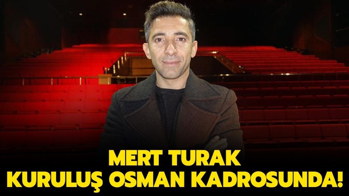 """Kuruluş Osman'ın oyuncu kadrosuna katılan Mert Turak kimdir, kaç yaşında"""""""