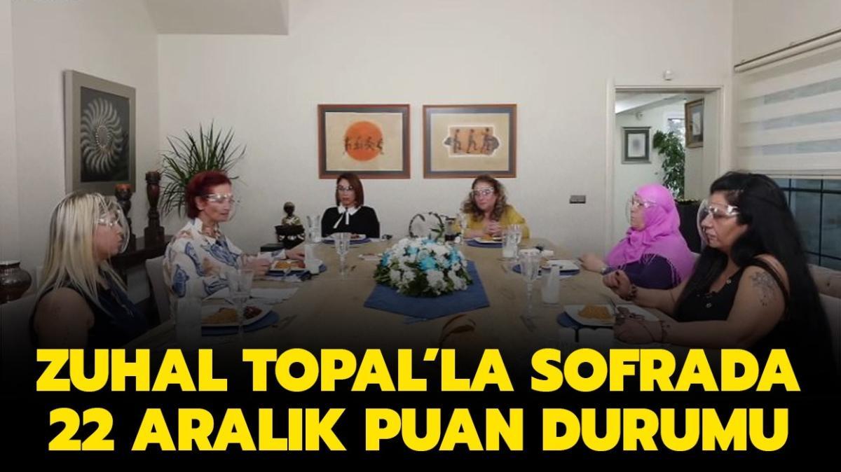 Zuhal Topal'la Sofrada 22 Aralık puan durumu açıklandı!