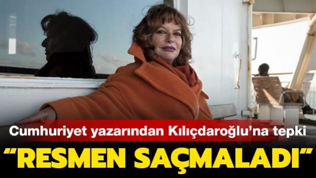 """Cumhuriyet yazarı Mine Kırıkkanat'tan Kılıçdaroğlu'na tepki: """"Resmen saçmaladı"""""""