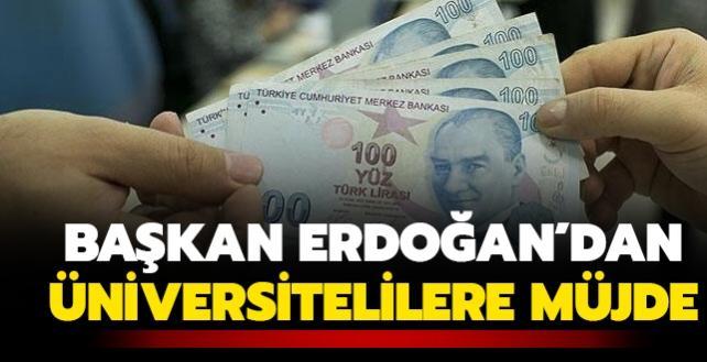 Son dakika haberi: Başkan Erdoğan'dan üniversite öğrencilerine müjde! 2021 yılı kredi ve burs ücretleri açıklandı