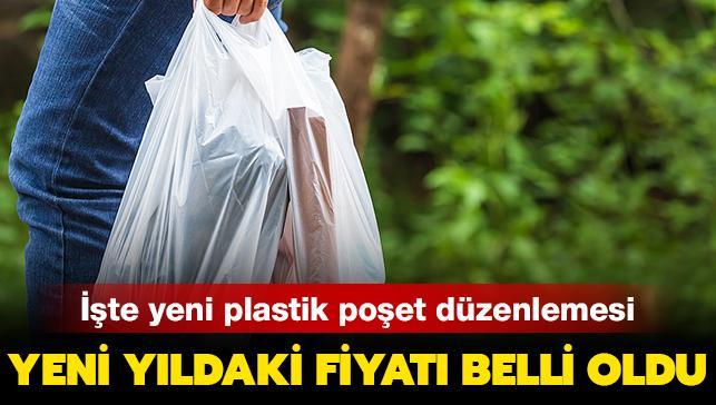 Plastik poşetin 2021 fiyatı belli oldu: İşte yeni düzenleme...