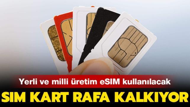 Son dakika haberi... SIM kartlar rafa kalkıyor: Yeni yılda yerli ve milli eSIM kullanılacak