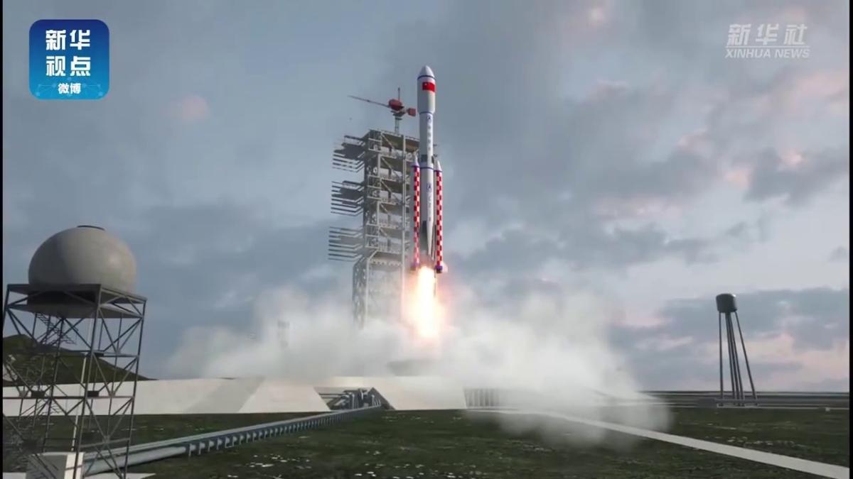 5 uydu taşıyabilecek: Çin, Long March 8 roketini ilk kez fırlattı