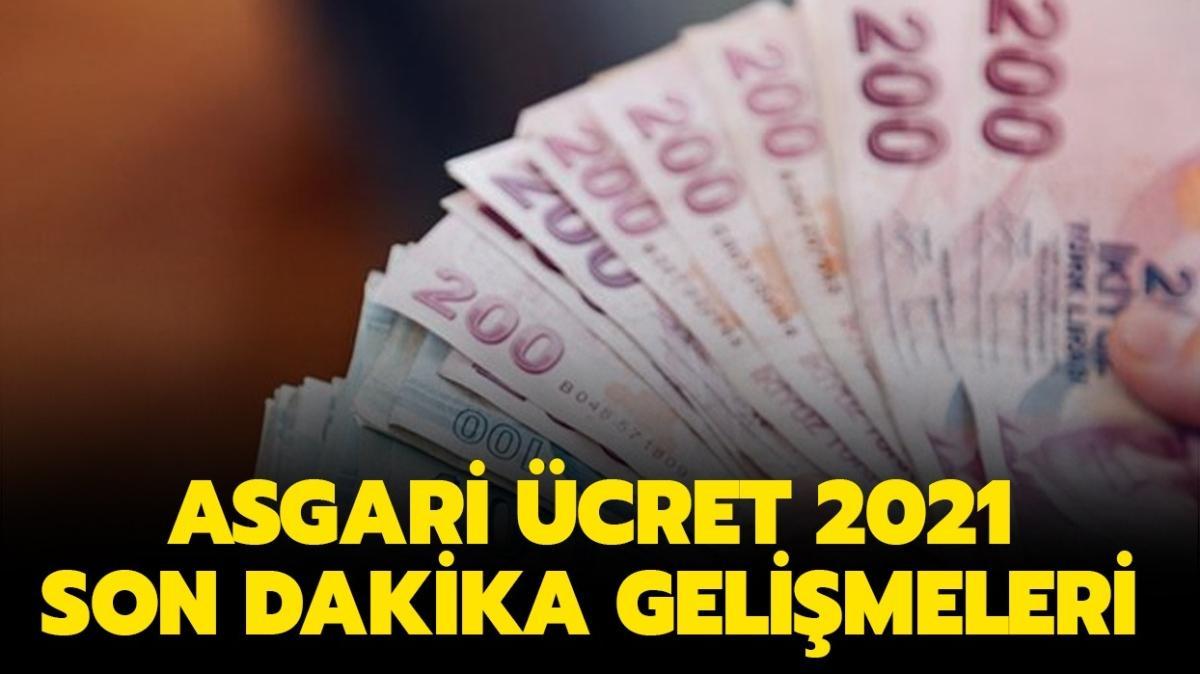 """Asgari ücret ne kadar olacak, tahminler neler"""" Asgari ücret 2021'de son durum nedir"""""""
