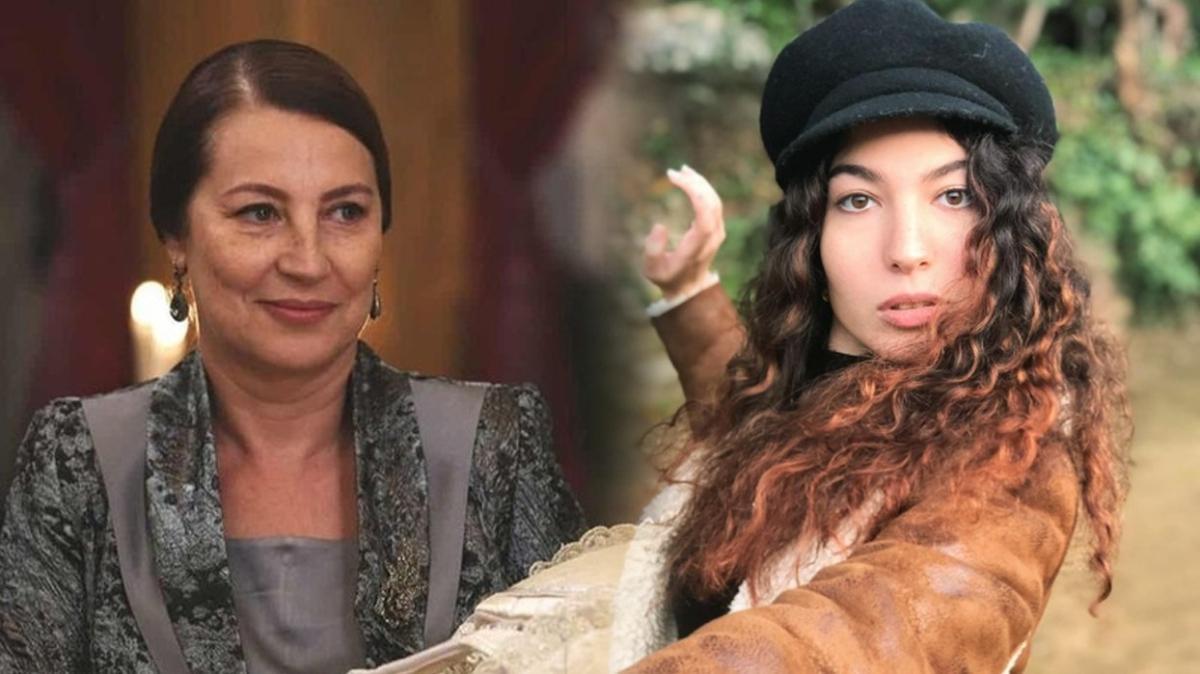 Bir Zamanlar Çukurova'nın Hünkar'ı Vahide Perçin'in kızı da oyuncu çıktı! Meğer aynı dizide oynamışlar...