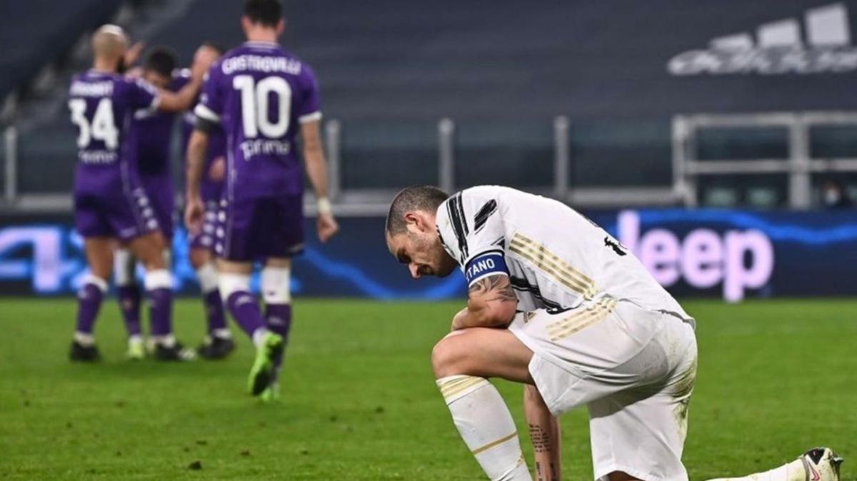 Fiorentina, Ronaldolu Juventus'a ilk mağlubiyetini tattırdı