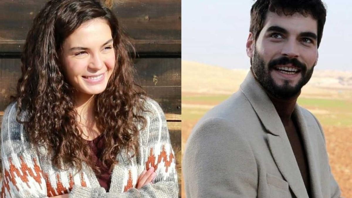 Hercai dizisinin Reyyan'ı Ebru Şahin ve Miran'ı Akın Akınözü'nden mest eden set paylaşımı