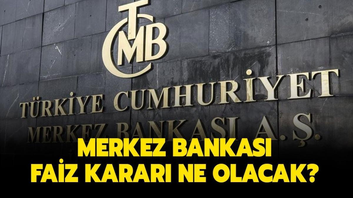 """Merkez Bankası faiz kararı nedir"""" Son dakika Merkez Bankası faiz açıklaması sizlerle"""