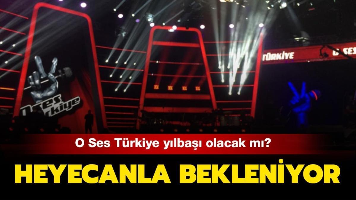 O Ses Türkiye yılbaşı programı geliyor