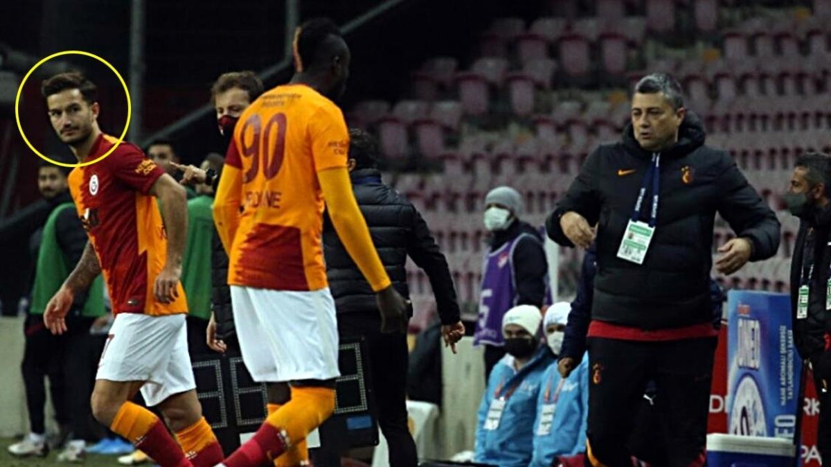 Galatasaray'da Mbaye Diagne yine sorun çıkardı! Şok tepki